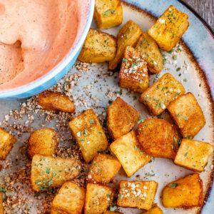 easy patatas bravas recipe
