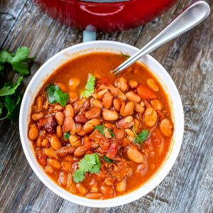 How to Make Pinto Beans from Scratch (with Bacon)