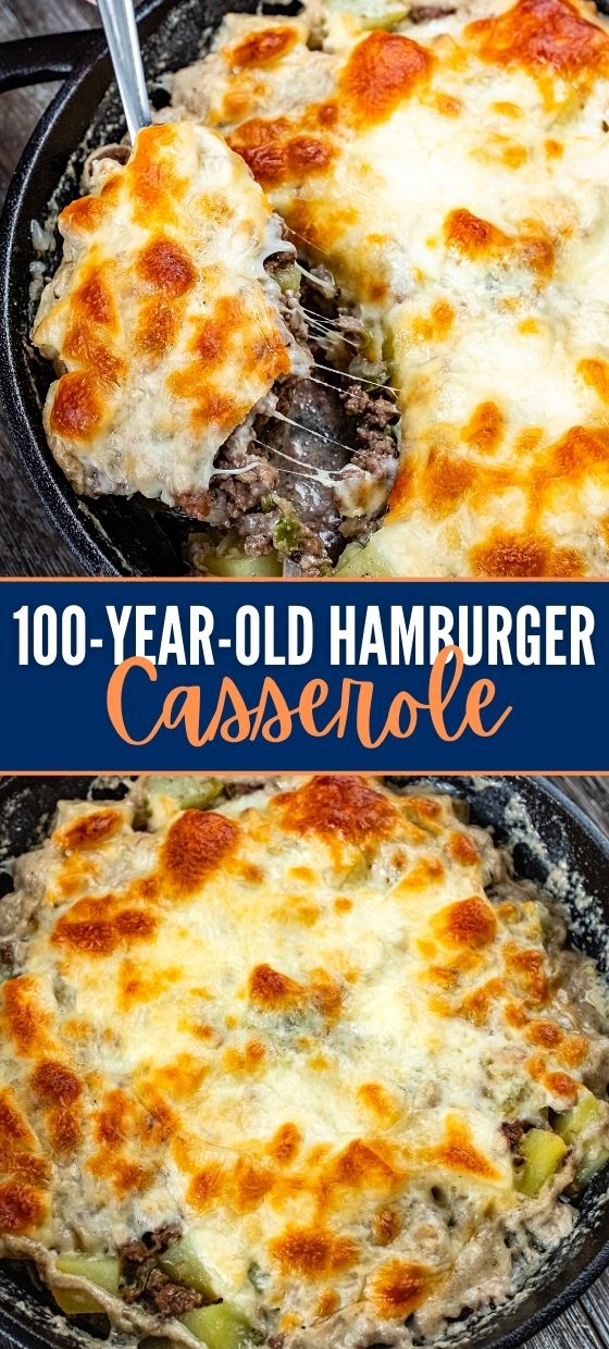 Hamburger Casserole Recipe (100-Year-Old)