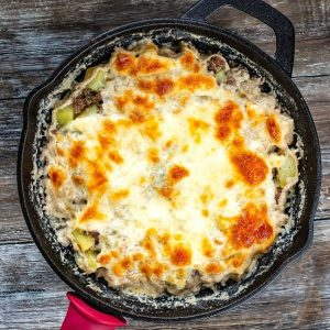 ground beef and milk casserole recipe