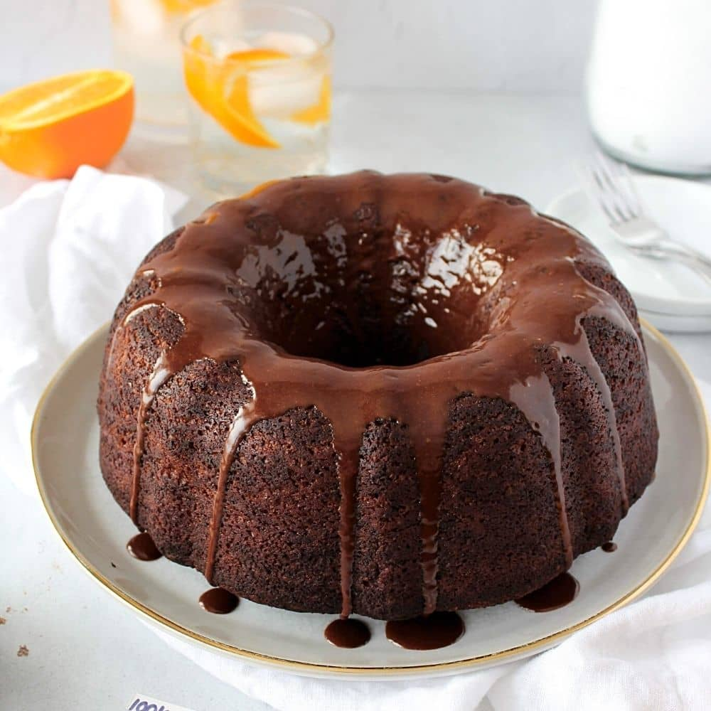 Easy Chocolate Orange Cake