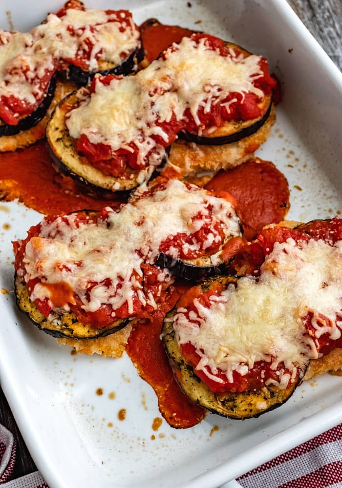 chicken parmesan with eggplant