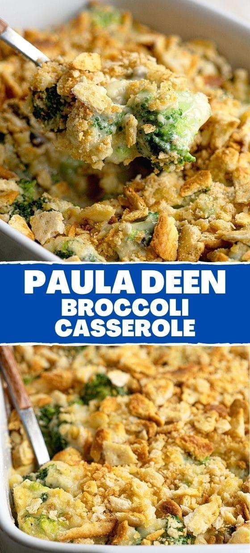 Paula Deen broccoli casserole