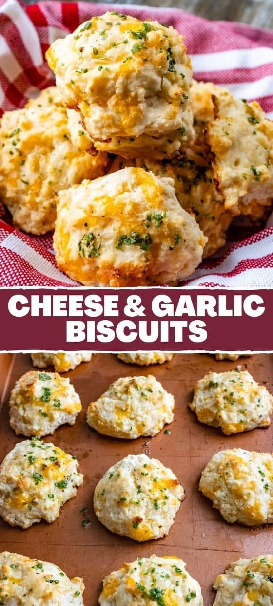 Quick & Easy Cheese-Garlic Biscuits