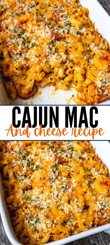 CAJUN MAC AND CHEESE RECIPE