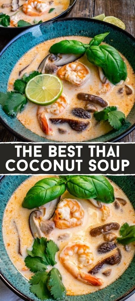 Best Ever 'Thai Coconut Soup'