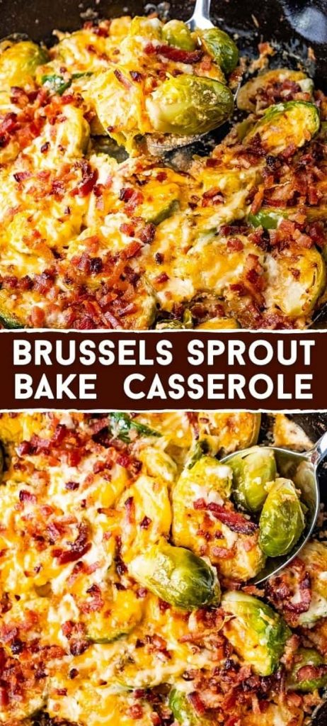 Brussels Sprout Bake Casserole