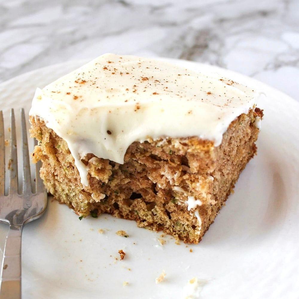 CINNAMON ZUCCHINI CAKE