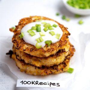 Cheesy Cauliflower Patties