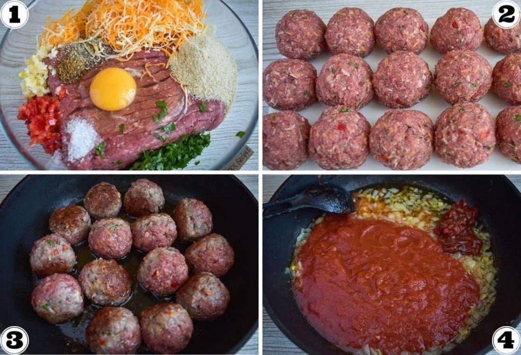 Easy Tex Mex Meatballs
