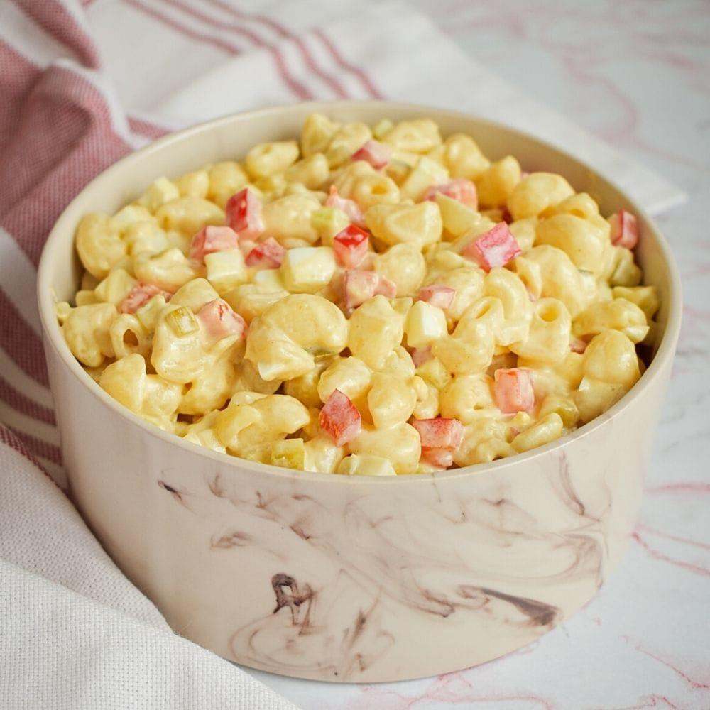 Sweet Amish Macaroni Salad