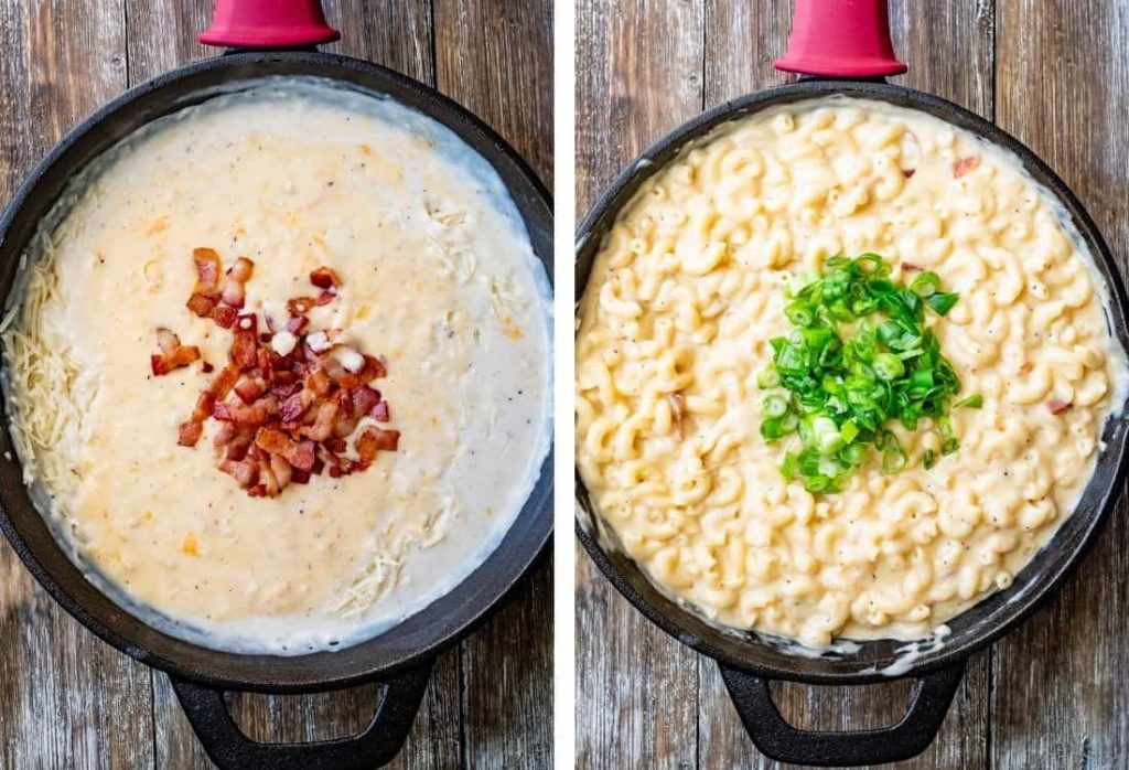 BEER AND BACON MAC AND CHEESE
