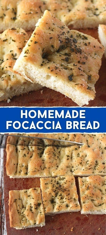 Homemade Focaccia Bread