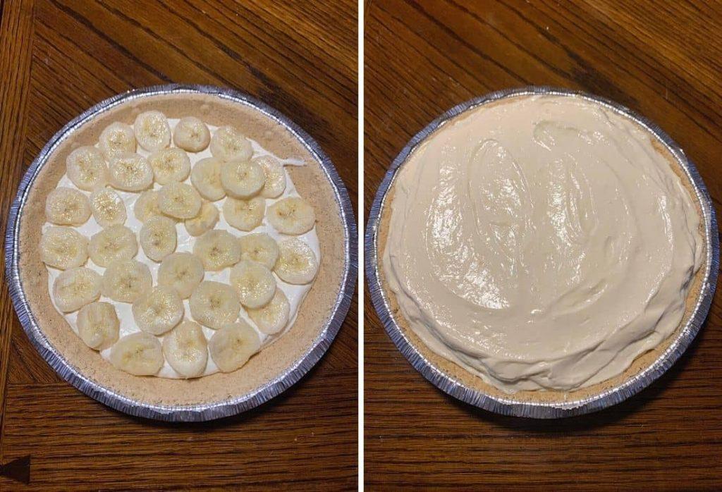 No Bake Banana Pudding Cheesecake