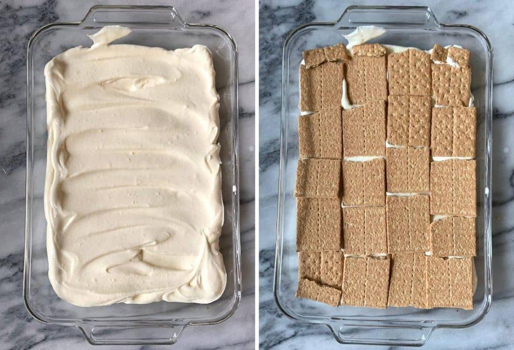 No bake Chocolate Eclair Cake