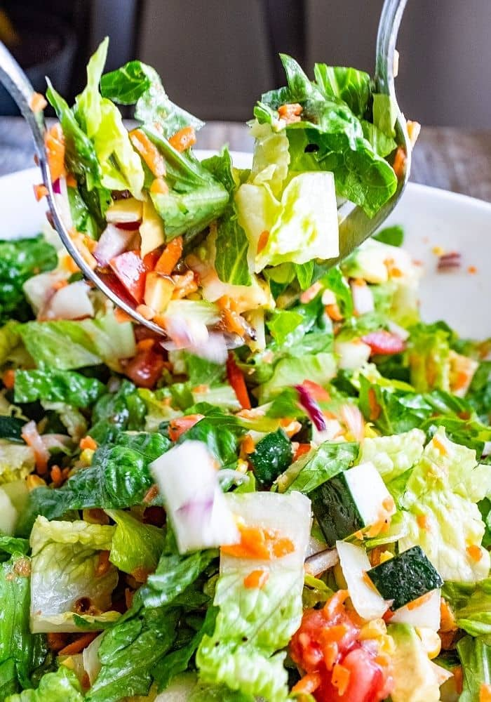 The Best Tossed Salad