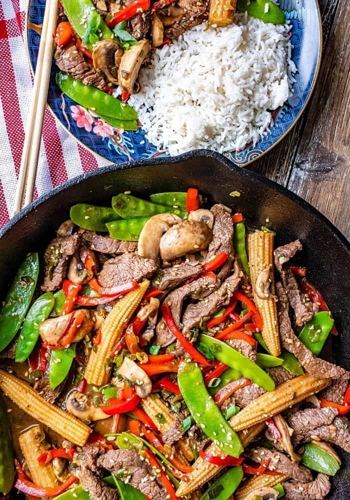The best beef stir fry