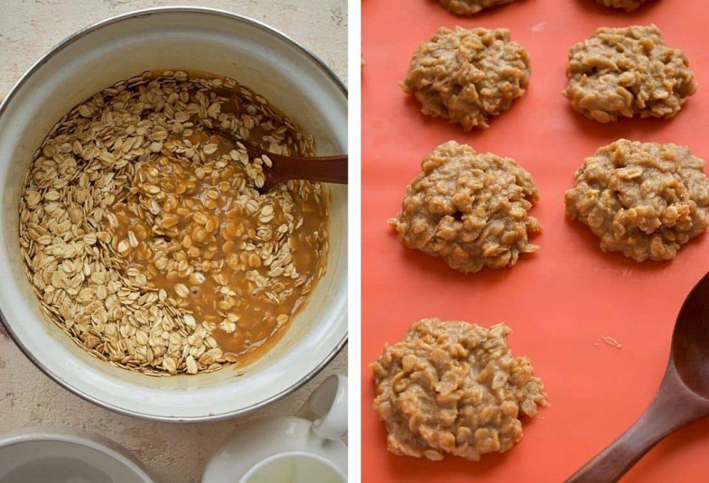 Peanut Butter No-Bake Cookies