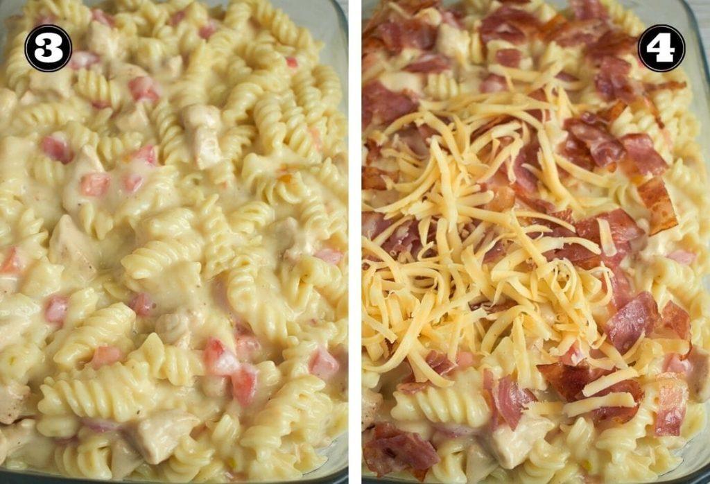 Crazy Good Chicken Pasta Casserole