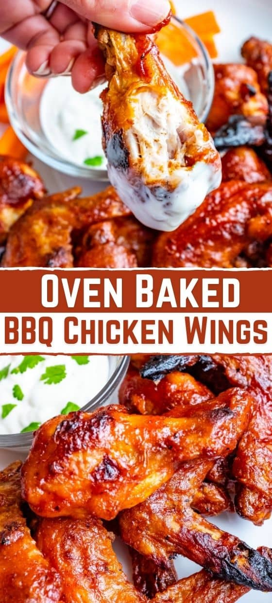 How To Make Oven Baked BBQ Chicken Wings
