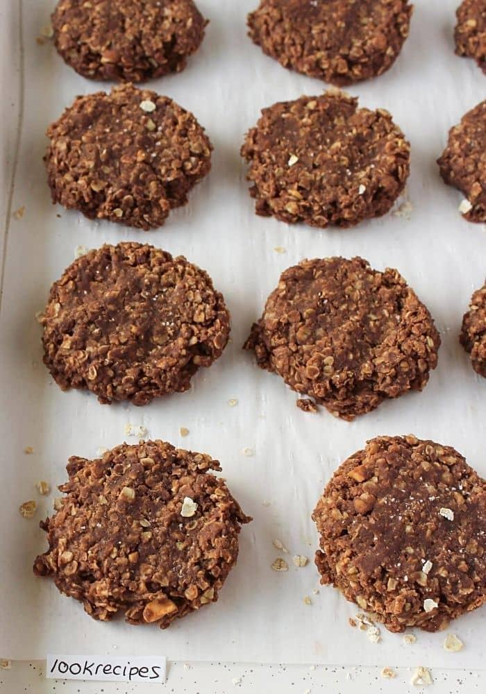 No Bake Preacher Cookies