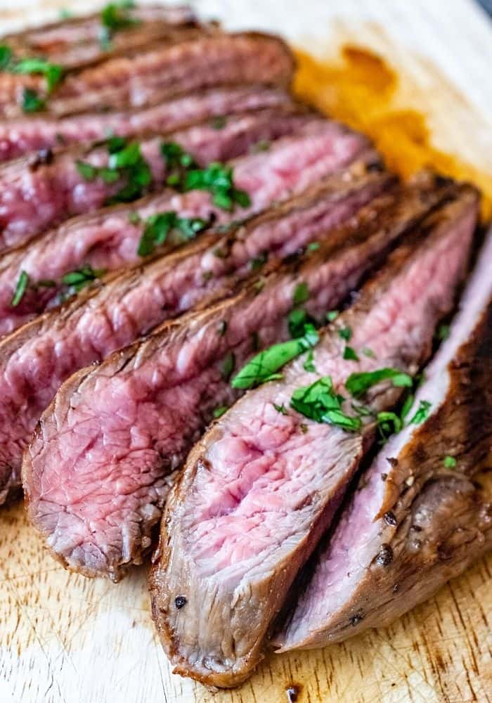 The Best Marinated and Grilled Flank Steak