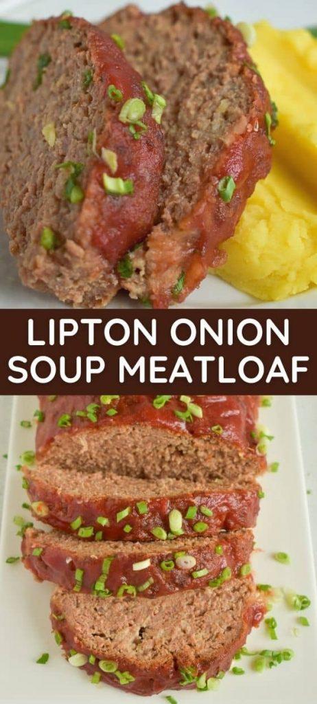 Lipton Onion Soup Meatloaf