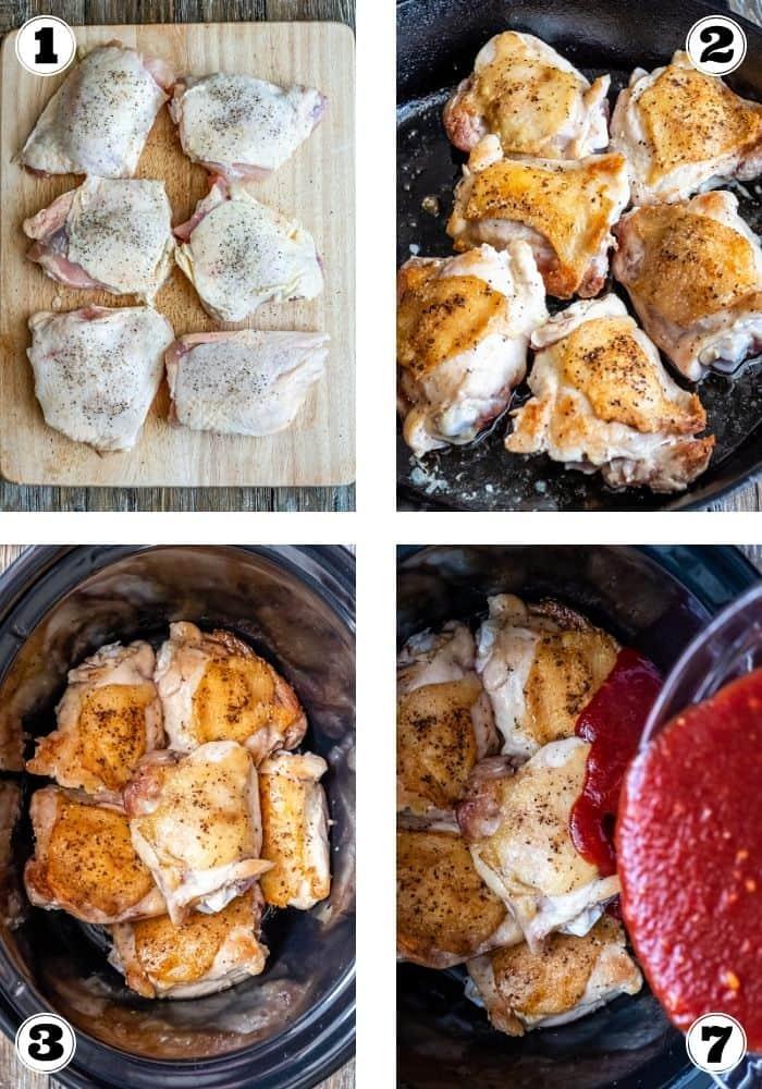 Crockpot Chicken Thighs