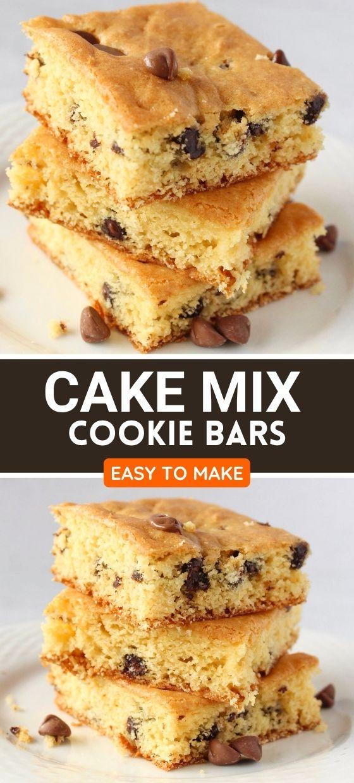 Best Cake Mix Bars